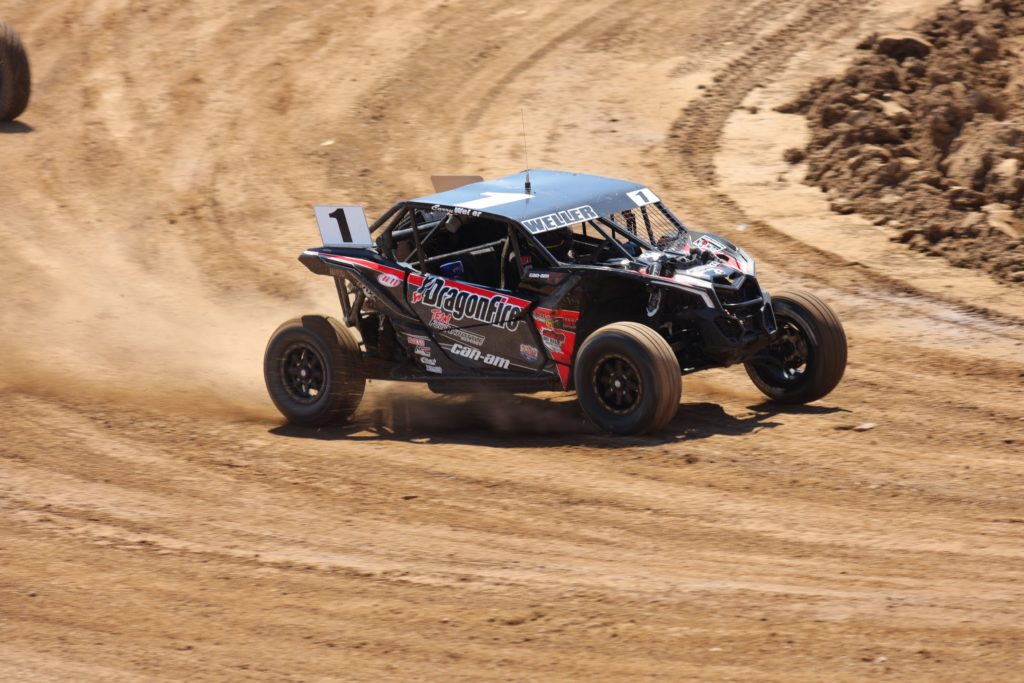 Weller Pilots Maverick X3 to Victory in Nevada