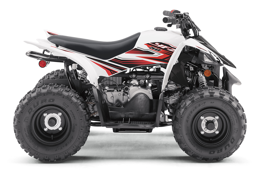2020 Yamaha YFZ50 - White / Red ($2,199)