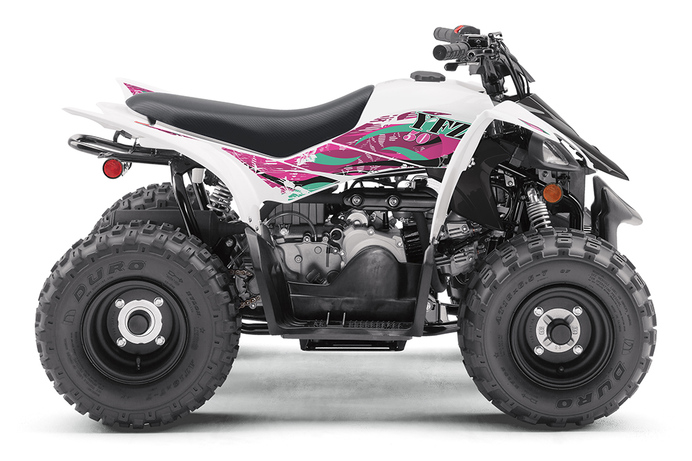 2020 Yamaha YFZ50 - White/Pink ($2,199)