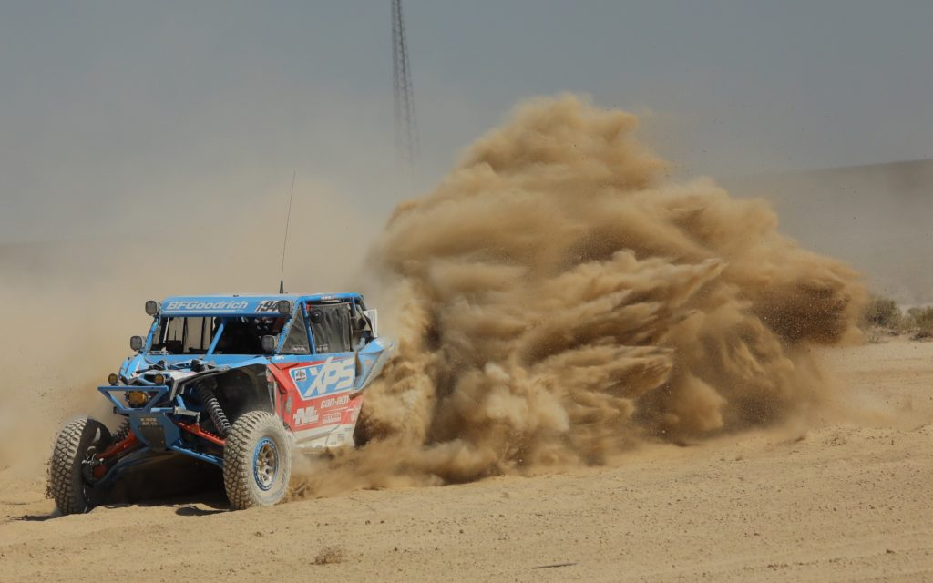 PHIL BLURTON WINS THIRD STRAIGHT BITD VEGAS-TO-RENO DESERT RACE IN CAN-AM MAVERICK X3 SIDE-BY-SIDE VEHICLE